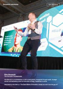 Cris Beswick Speaker Overview