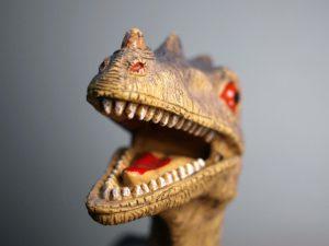 Dinosaur wee solution